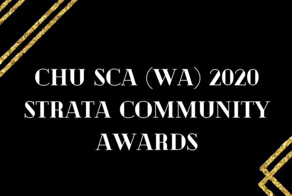 SCAWA community awards