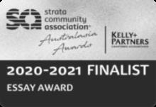 2020-2021 SCA Australasia Essay Award Finalist
