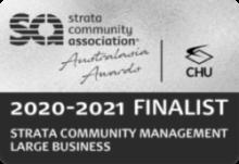 2020-2021 SCA Australasia Strata Community Management Large Business